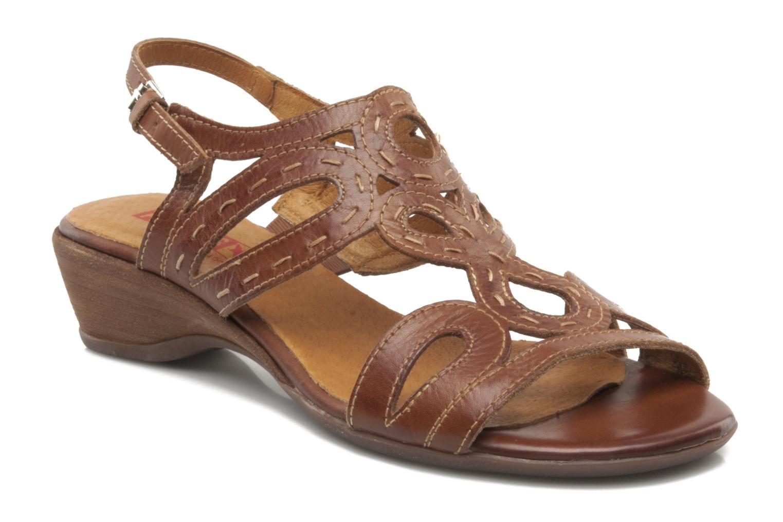 Sandales et nu-pieds Pikolinos Thailandia 7589 Marron vue détail/paire