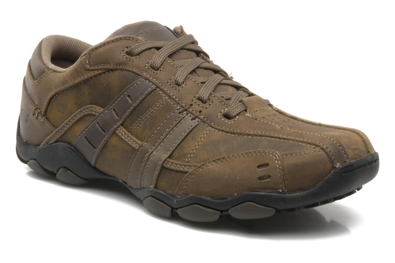 Sneaker Skechers Vassell 62607 braun detaillierte ansicht/modell
