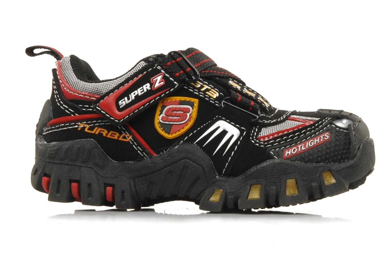 Sneaker Skechers Turbo-s schwarz ansicht von hinten