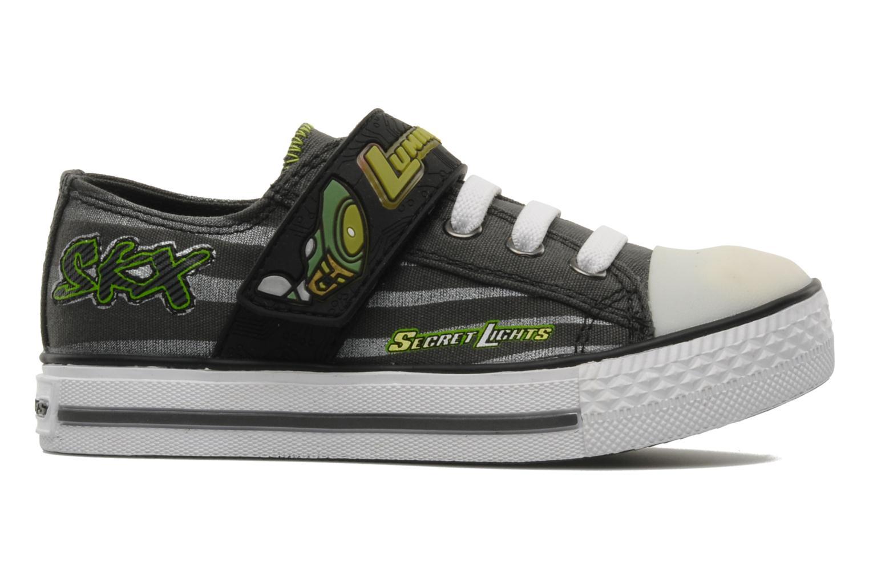 Sneakers Skechers Roswell Grigio immagine posteriore