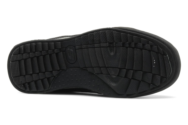 Baskets Skechers Piceno Noir vue haut