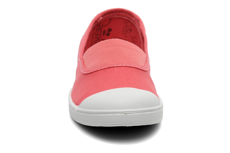 Ballerines Le temps des cerises Basic 01 F Rose vue portées chaussures