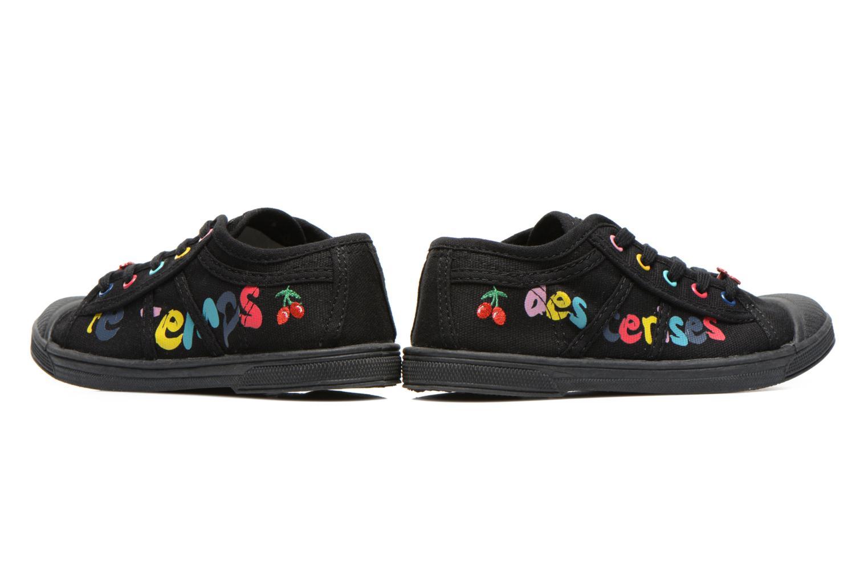 Sneakers Le temps des cerises Basic 02 E Svart 3/4 bild
