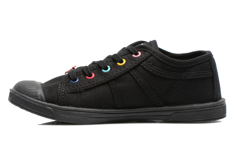 Sneaker Le temps des cerises Basic 02 E schwarz ansicht von vorne