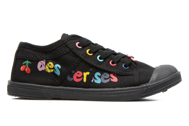 Sneaker Le temps des cerises Basic 02 E schwarz ansicht von hinten