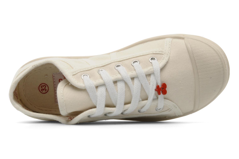 Sneakers Le temps des cerises Basic 02 E Wit links