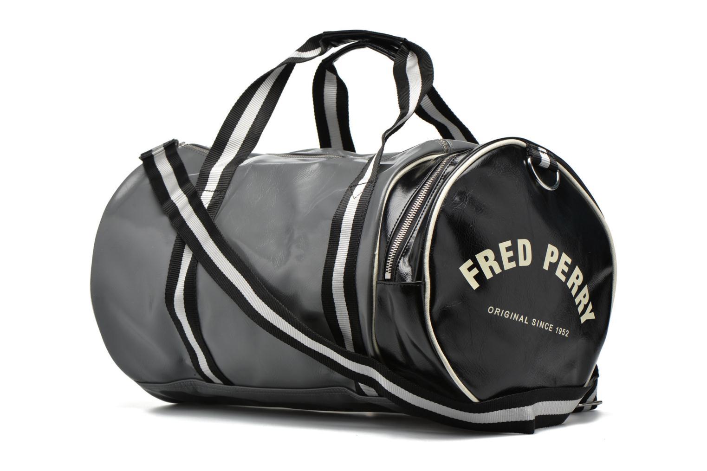 Sacs de sport Fred Perry Classic Barrel Bag Gris vue droite