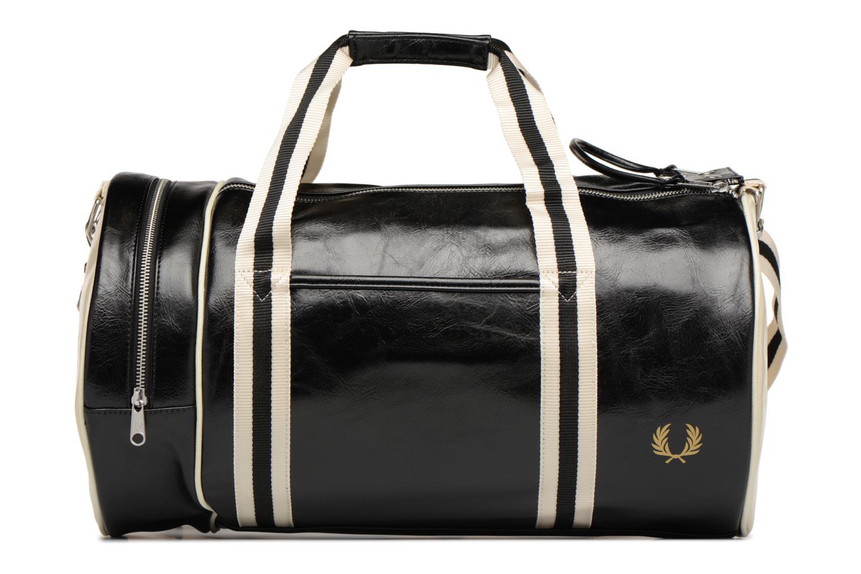 Sporttassen Fred Perry Classic Barrel Bag Zwart detail