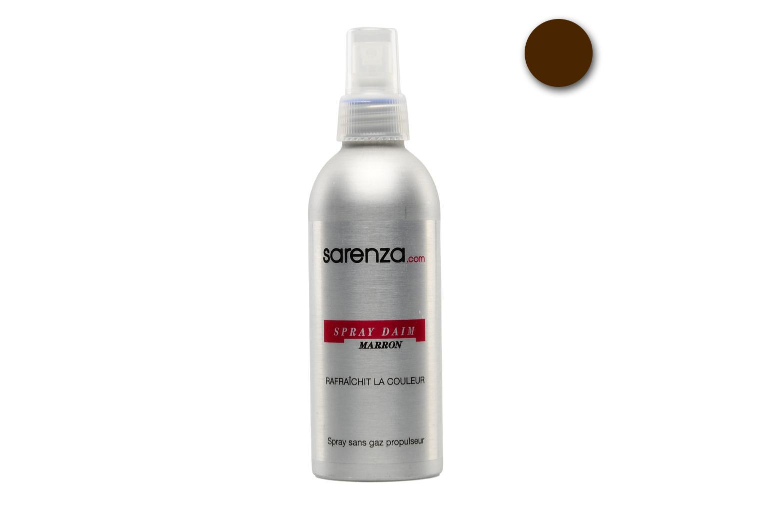 Wildleder Reiniger 200ml-Spray in braun (marron) oder schwarz (noir). marron