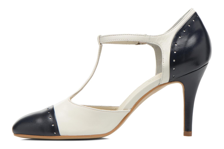 Zapatos de tacón Georgia Rose Tamar Blanco vista de frente