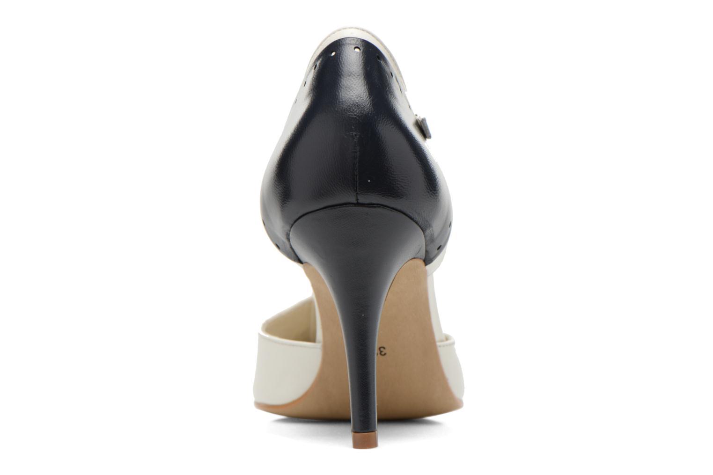 Zapatos de tacón Georgia Rose Tamar Blanco vista lateral derecha