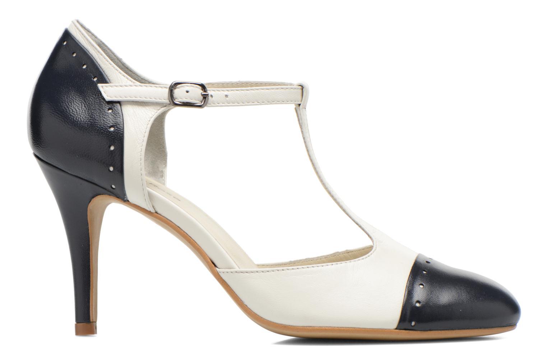 Zapatos de tacón Georgia Rose Tamar Blanco vistra trasera