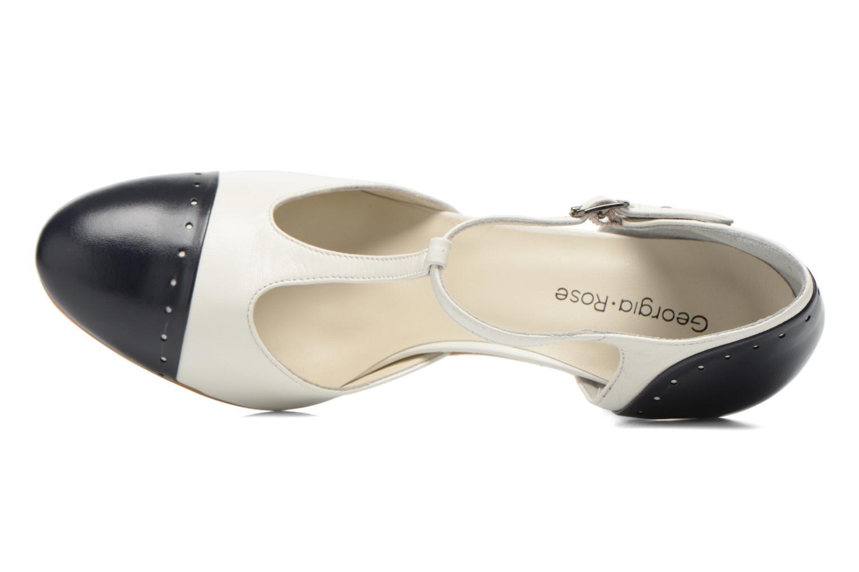 Zapatos de tacón Georgia Rose Tamar Blanco vista lateral izquierda