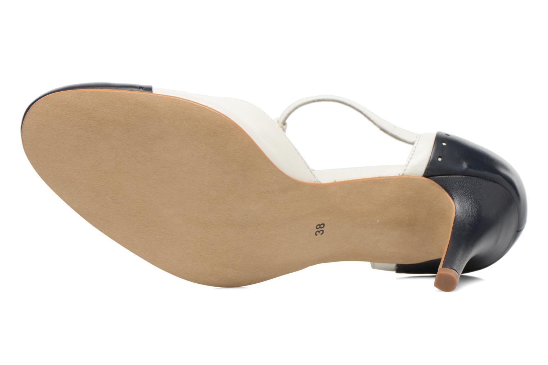 Zapatos de tacón Georgia Rose Tamar Blanco vista de arriba