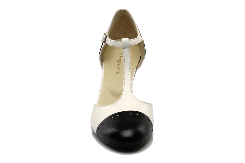 Escarpins Georgia Rose Tamar Blanc vue portées chaussures