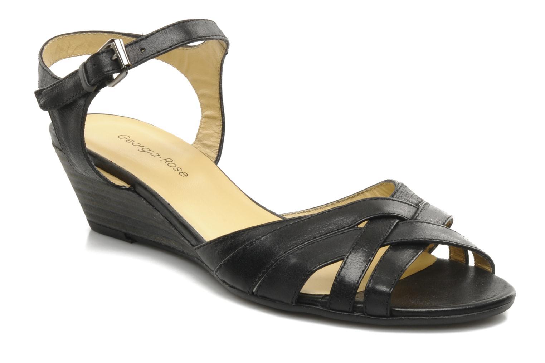 Sandalen Georgia Rose Turaco schwarz detaillierte ansicht/modell