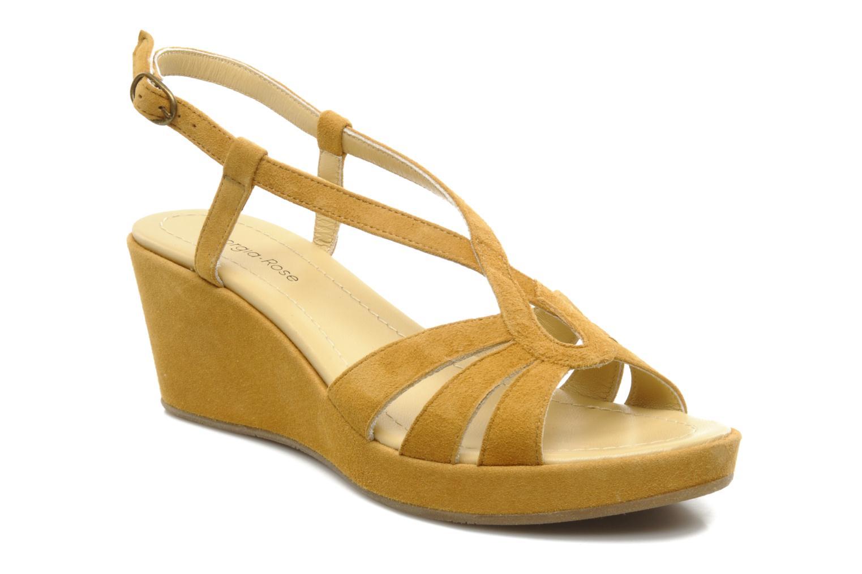 Sandalen Georgia Rose Tomasi gelb detaillierte ansicht/modell