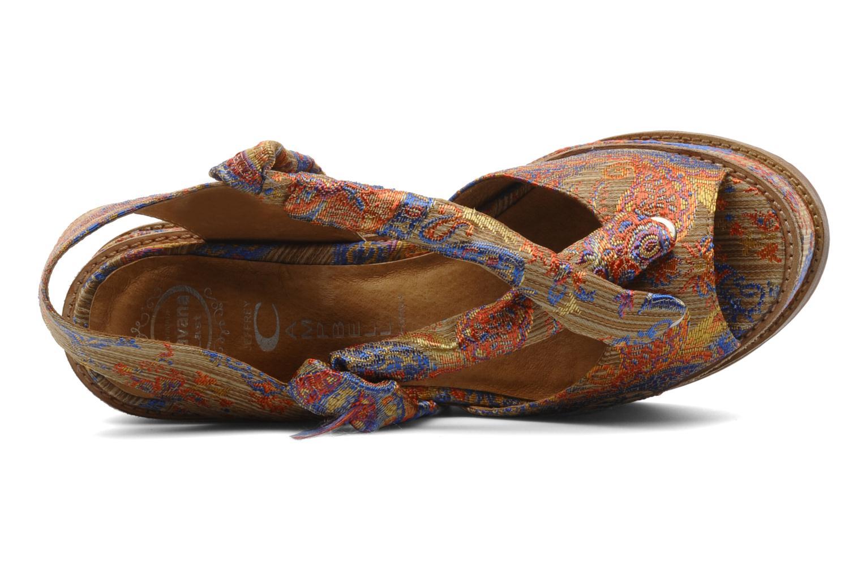 Sandales et nu-pieds Jeffrey Campbell LANDERS Or et bronze vue gauche