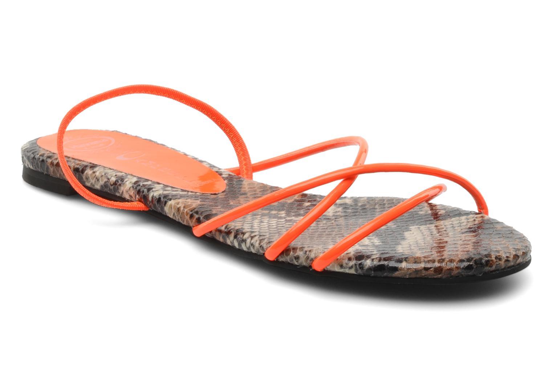 Sandalen Jeffrey Campbell SPIRAL Oranje detail