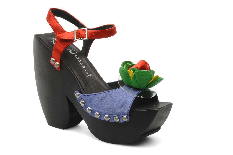 Sandales et nu-pieds Jeffrey Campbell CHITA Multicolore vue détail/paire