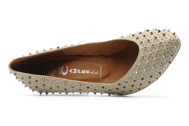 Zapatos de tacón Jeffrey Campbell LANE SPIKE Beige vista lateral izquierda