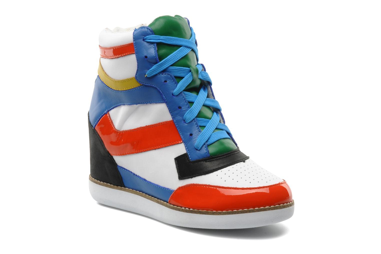 Baskets Jeffrey Campbell NAPOLES Multicolore vue détail/paire