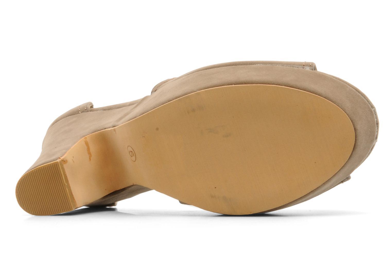 Sandalen Spot On MANSON Bruin boven