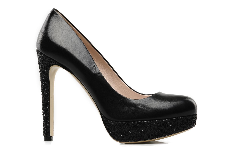 Zapatos de tacón De Siena shoes Adriane Negro vistra trasera