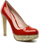 Patent leather red