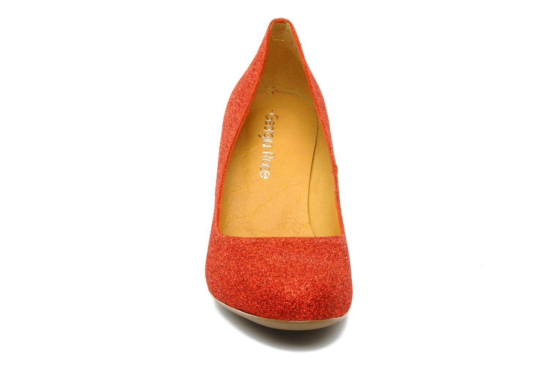 Escarpins Georgia Rose Zigga Rouge vue portées chaussures