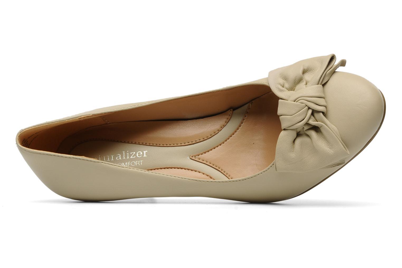 Zapatos de tacón Naturalizer Stev Beige vista lateral izquierda