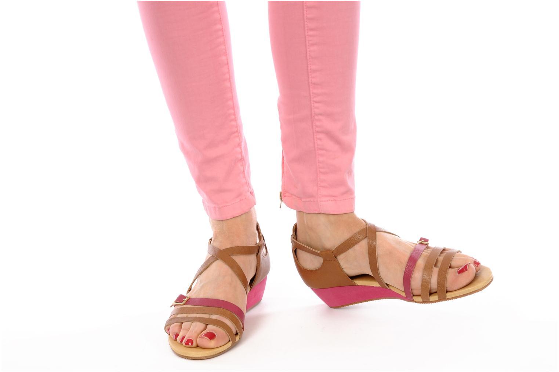 Sandales et nu-pieds Flipflop LIZ Marron vue bas / vue portée sac