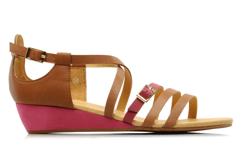 Sandales et nu-pieds Flipflop LIZ Marron vue derrière