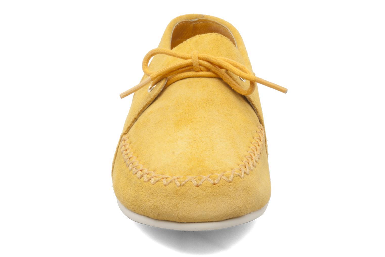 Chaussures à lacets Flipflop LENNI LO Jaune vue portées chaussures