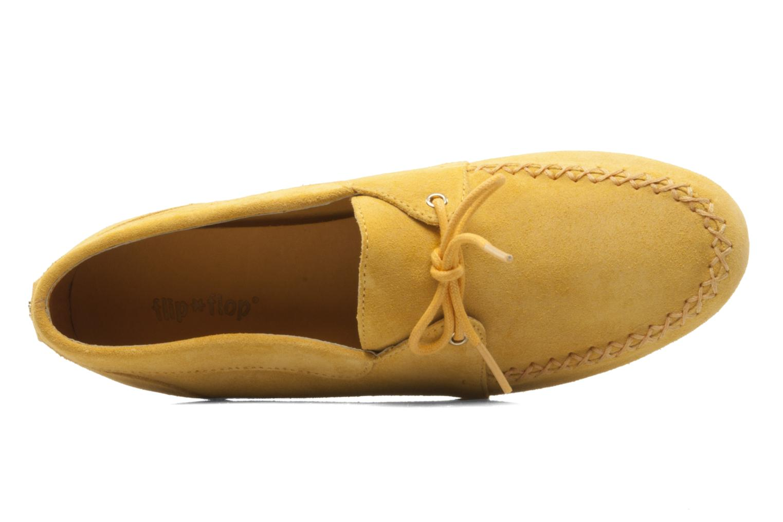 Chaussures à lacets Flipflop LENNI LO Jaune vue gauche