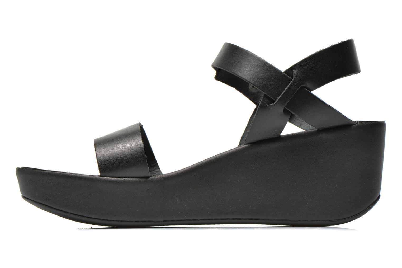 Sandals Jonak Jocho Black front view