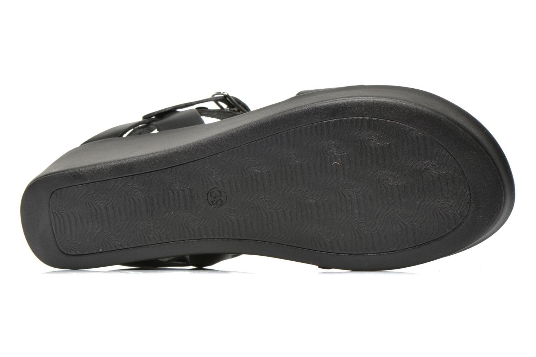 Sandales et nu-pieds Jonak Jocho Noir vue haut