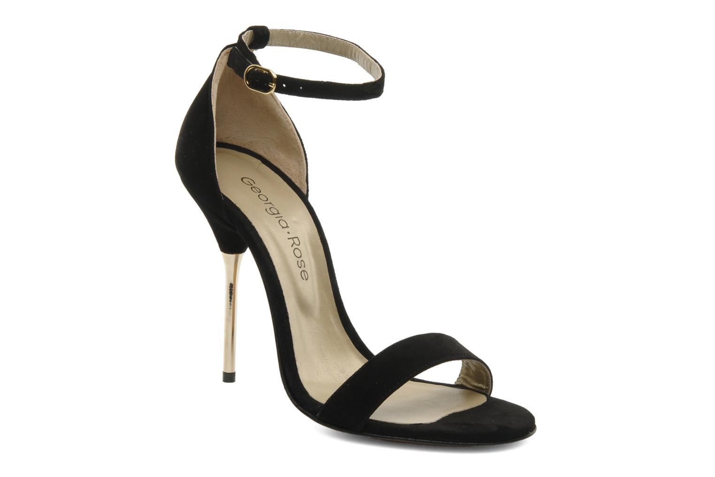 Sandalen Georgia Rose Fissa schwarz detaillierte ansicht/modell