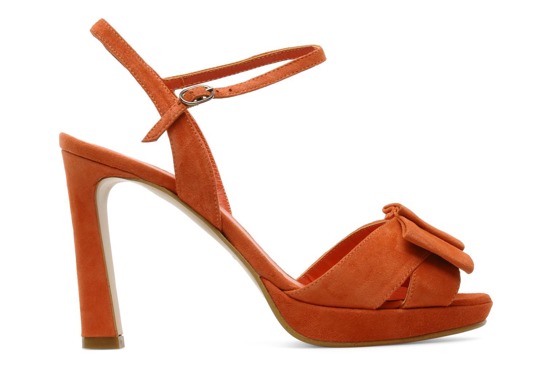 Sandalen Georgia Rose Malita Oranje achterkant