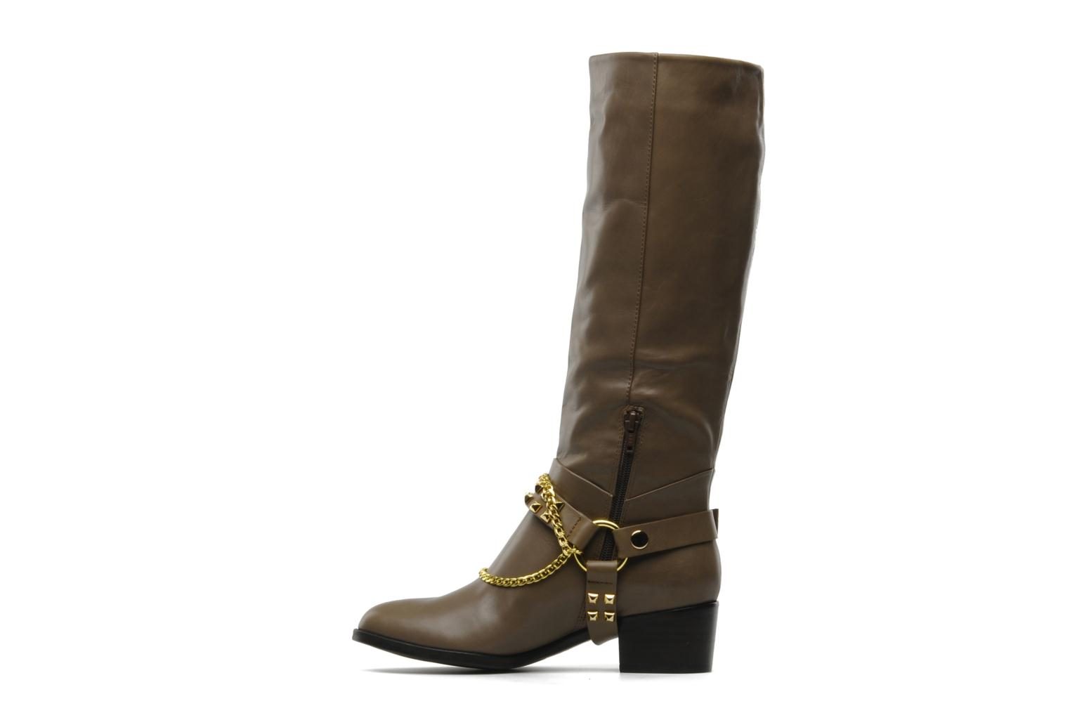 Boots & wellies Luciano Barachini Marla Brown front view