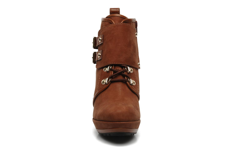 Bottines et boots Luciano Barachini Barilo Marron vue portées chaussures