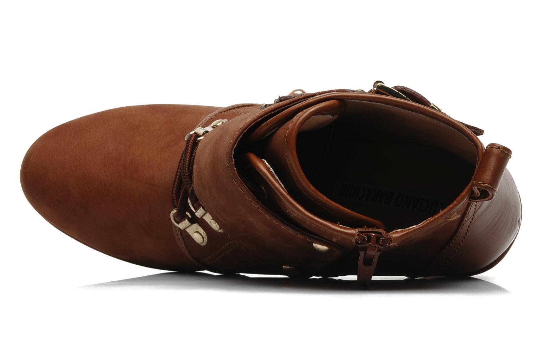 Bottines et boots Luciano Barachini Barilo Marron vue gauche