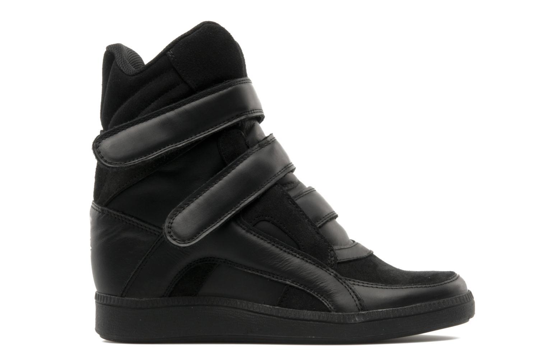 Sneaker Buffalo Saana schwarz ansicht von hinten