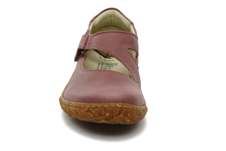 Ballerines El Naturalista Nido 725 Rose vue portées chaussures