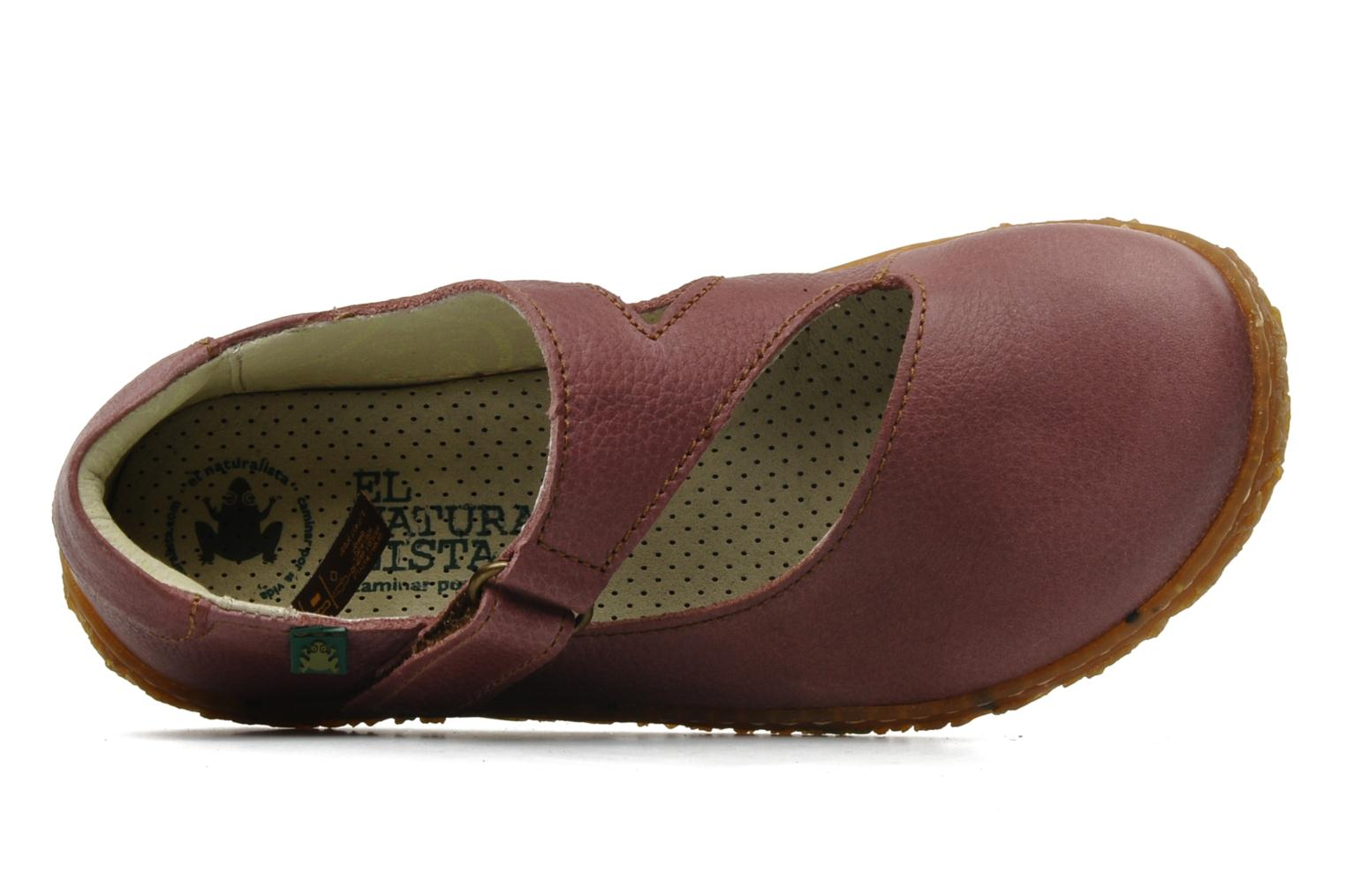 Ballet pumps El Naturalista Nido 725 Pink view from the left