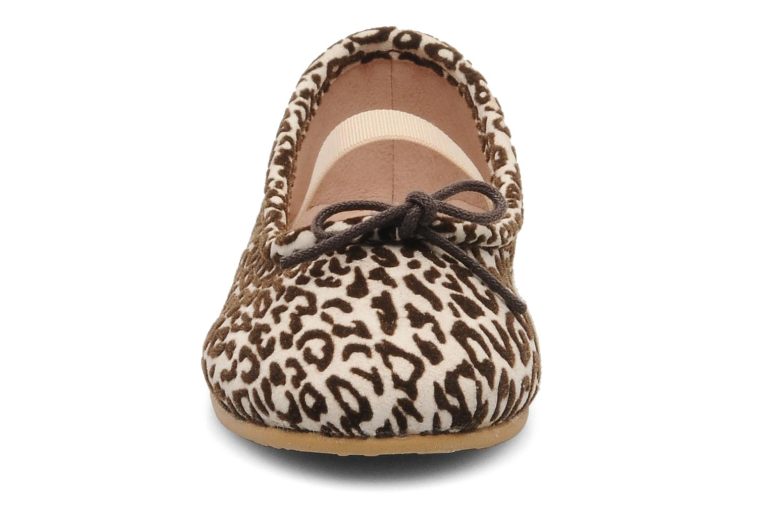 Ballerinas Bloch toddler arabella animal beige schuhe getragen