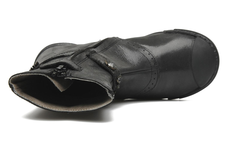 Stiefel Mod8 Karnabi schwarz ansicht von links