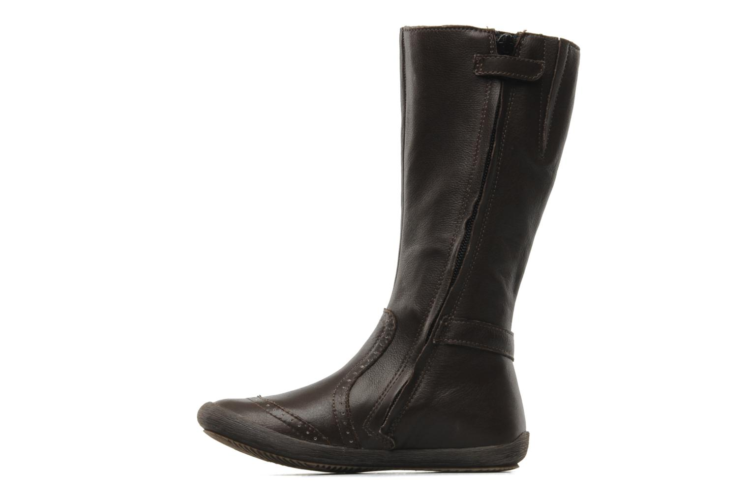 Bottes Mod8 Far Marron vue face