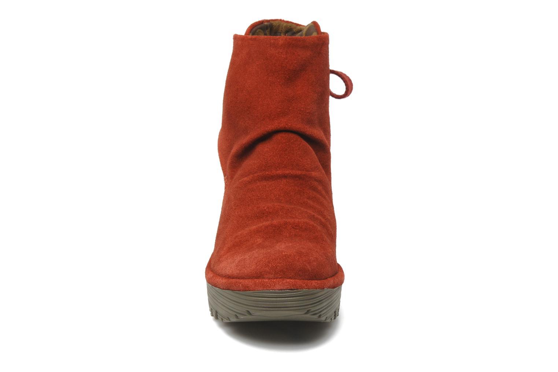 Stiefeletten & Boots Fly London Yama rot schuhe getragen