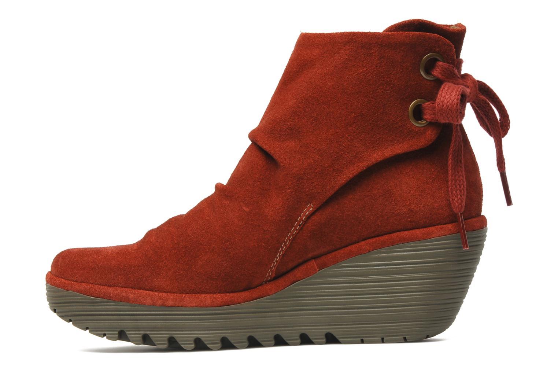 Stiefeletten & Boots Fly London Yama rot ansicht von vorne